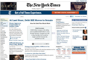 NYT have now made all content free to access relying on their name and advertising